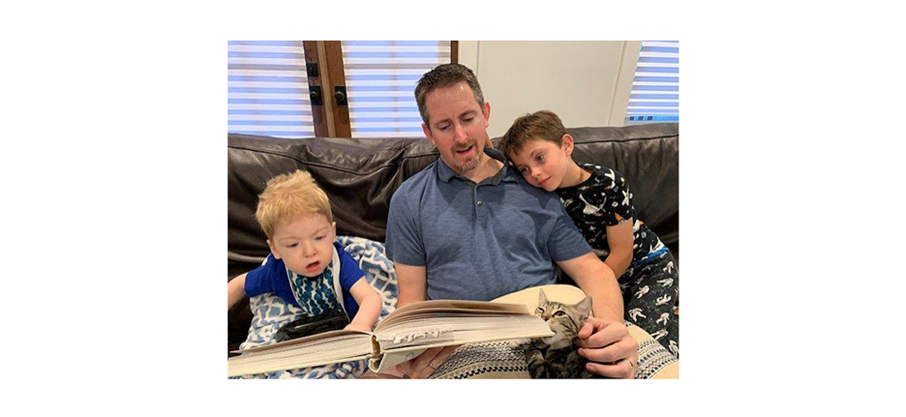 Doctor offers unique perspective as father of a child with rare genetic disease